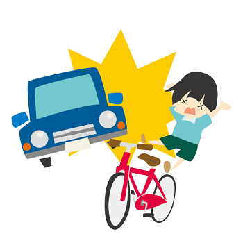 car accident bicycle