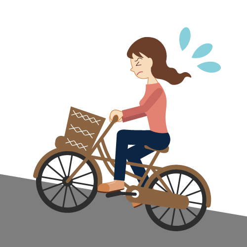 climbing bicycle
