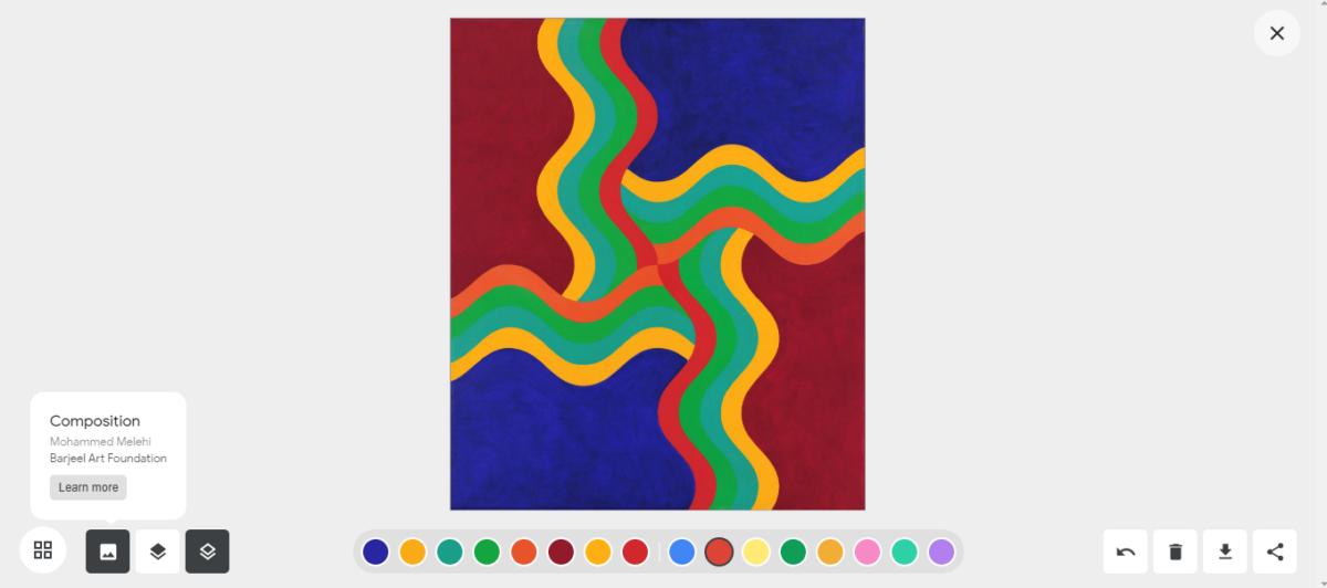 Google Arts & Culture Art Coloring Book 3